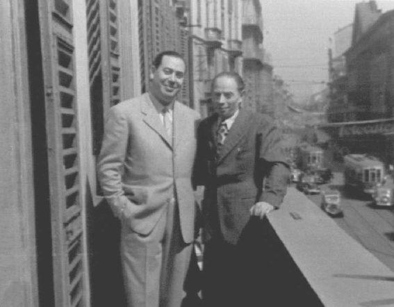 Manfredi dUrbino e Leone Feiwel
